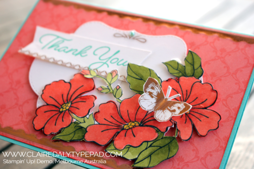 Stampin Up Blended Seasons Card by Claire Daly, Stampin' Up! Demo Melbourne Australia