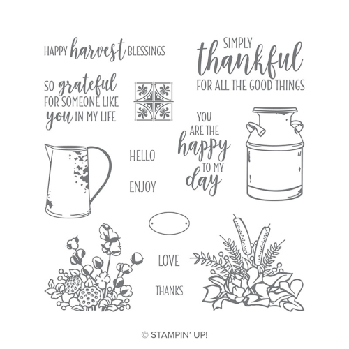 Stampin' Up! Country Home stamp set available in my online store (click through).