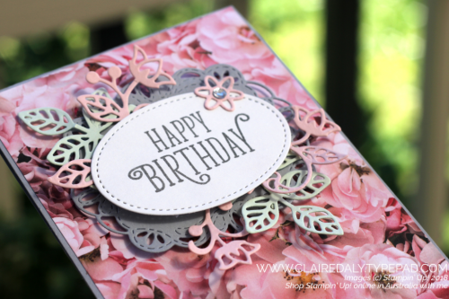 October 2018 Stampin Up Card Kit Claire Daly Australia