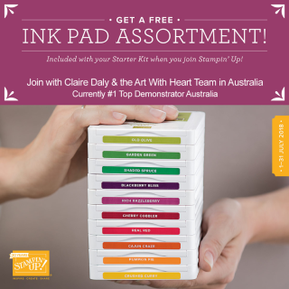 Ink Pad promo personalized