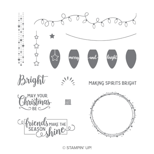 Stampin Up Making Spirits Bright stamp set, 2018, holiday, catalogue, catalog, Christmas, avalable in Australia in my online store (click through for link)