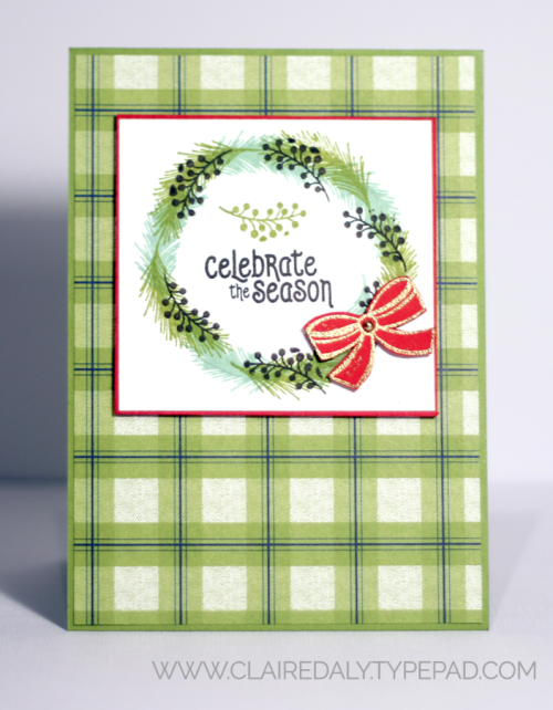 Stampin Up Mistletoe Season 2018 Christmas Card by Claire Daly Stampin Up Demonstrator Melbourne Australia