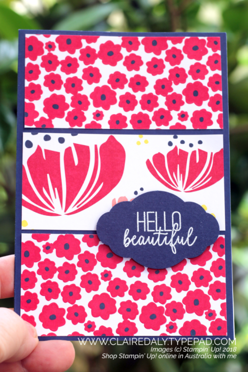 Stampin Up 2018, 2019, Occasions Catalogue, Happiness Blooms, Butterfly Gala, Claire Daly, Stampin' Up! Demonstrator Melbourne Australia