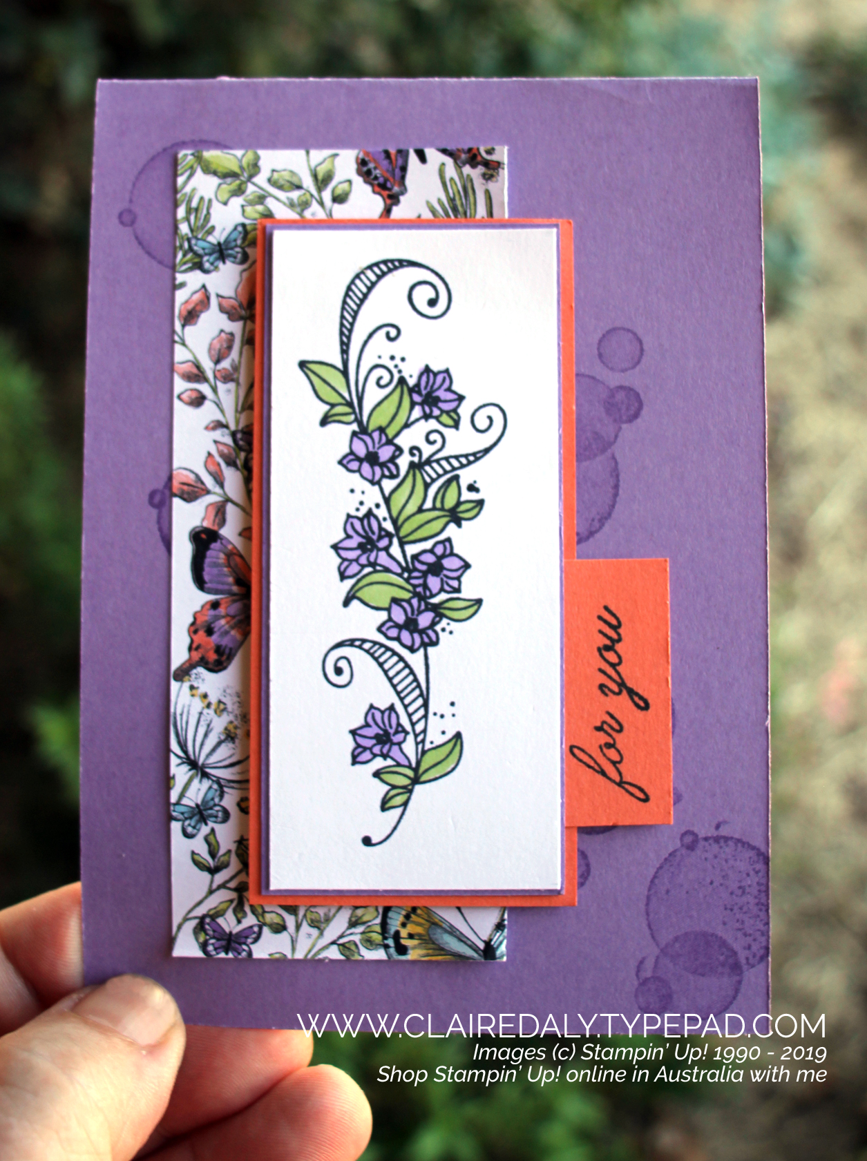 2019 Occasions Catalogue - Stampin' Up! Australia: Claire Daly
