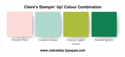 Claire's Stampin' Up! Colour Combination (2)