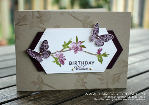 Stampin' Up! Australia: Claire Daly Independent Demonstrator