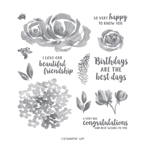 Stampin Up 2019 Annual Catalogue/ Catalogi Beautiful Friendship stamp set. Available in my online store in Australia and https://clairedaly.typepad.com (and click shop now in right column).