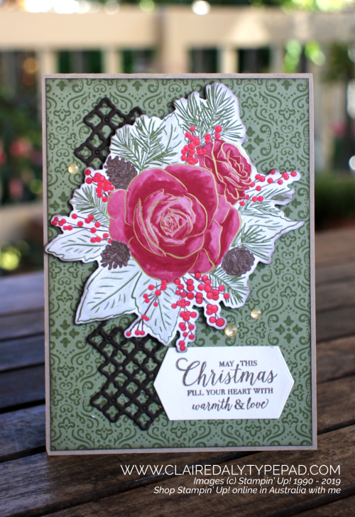 Stampin Up Christmastime is Here cards by Claire Daly, Stampin Up Demonstrator Melbourne Australia.