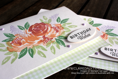 Stampin Up Beautiful Friendship 2019 card by Claire Daly, Stampin Up Demonstrator Melbourne Australia