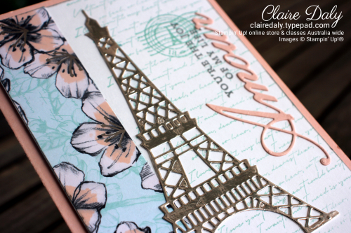 Stampin Up Parisian Beauty Bundle. 2020 January Mini, Claire Daly Stampin' Up! Demonstrator Melbourne Australia.