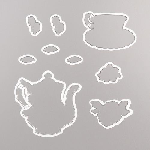 Tea dies