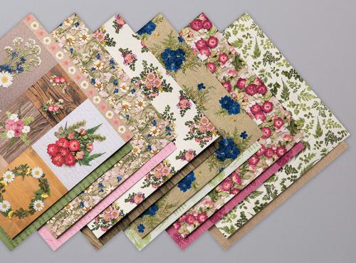 Pressed Petals Designer Series Paper