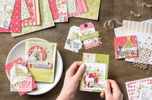 Stampin Up Most Wonderful Time product medley from 2019 Holiday Catalogue