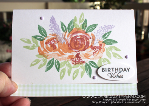 Stampin Up Beautiful Friendship 2019 card by Claire Daly, Stampin Up Demonstrator Melbourne Australi