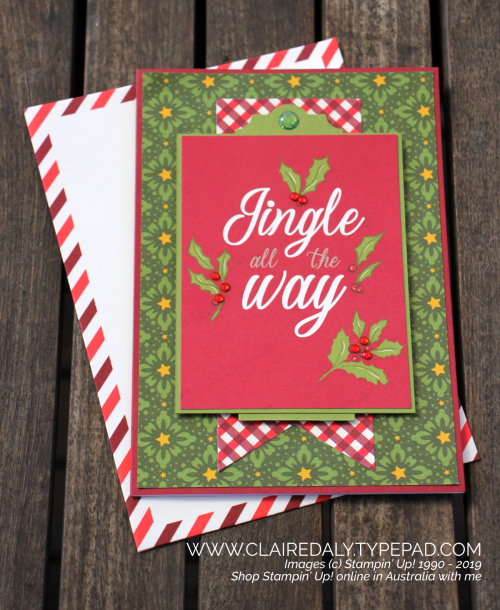 Stampin Up Night Before Christmas (2019 Holiday Catalogue) Memories and More projects by Claire Daly, Stampin' Up! Demonstrator, Melbourne Australia.