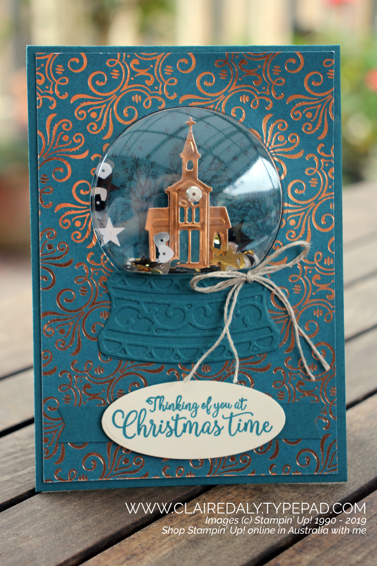 Handmade Cards Using 2020 Christmas Dsp From Stampin Up Stampin' Up! Australia: Claire Daly Independent Demonstrator