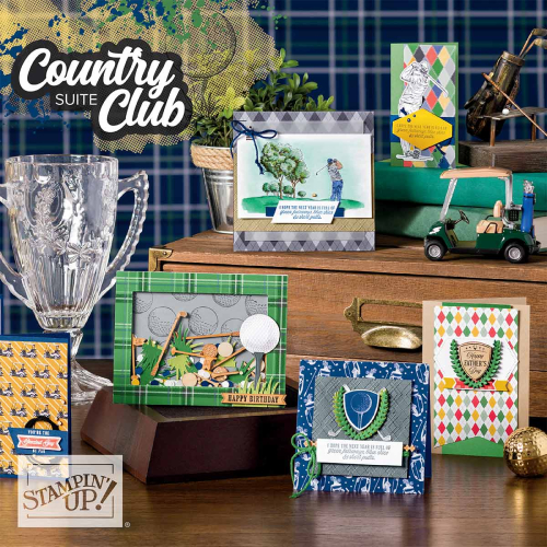 Country Club Suite Stampin Up