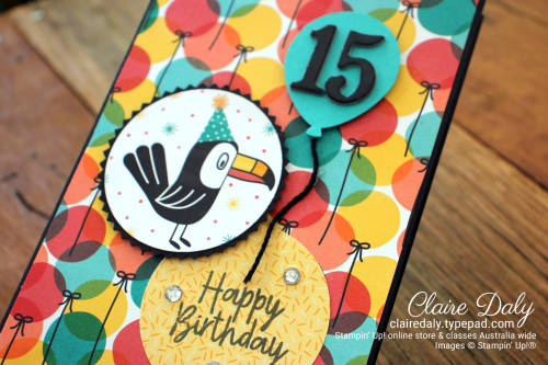 Stampin' Up! Birthday Bonanza 2020 Teen Birthday Card