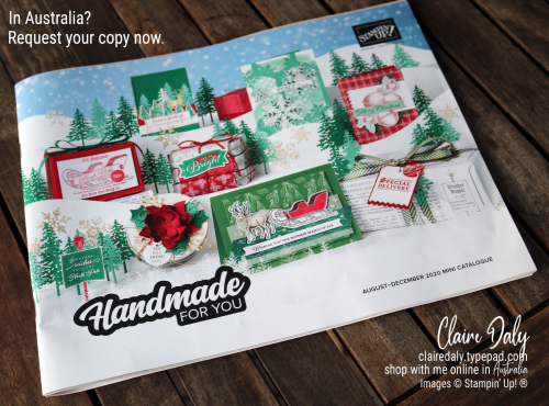 Stampin Up 2020 Holiday Catalogue - request your free copy in Australia.