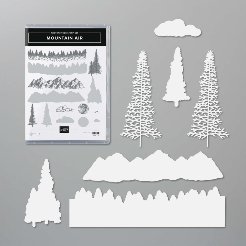 Stampin Up Mountain Air Bundle. Buy in Australia from my online store.