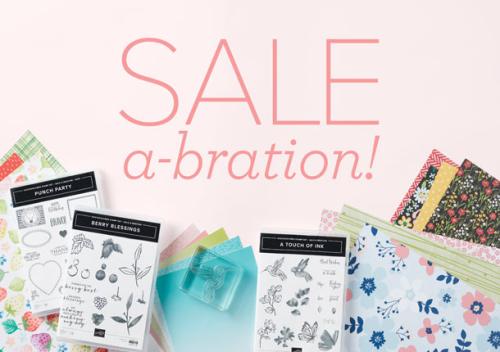 Stampin Up 2021 Saleabration Catalogue Australia