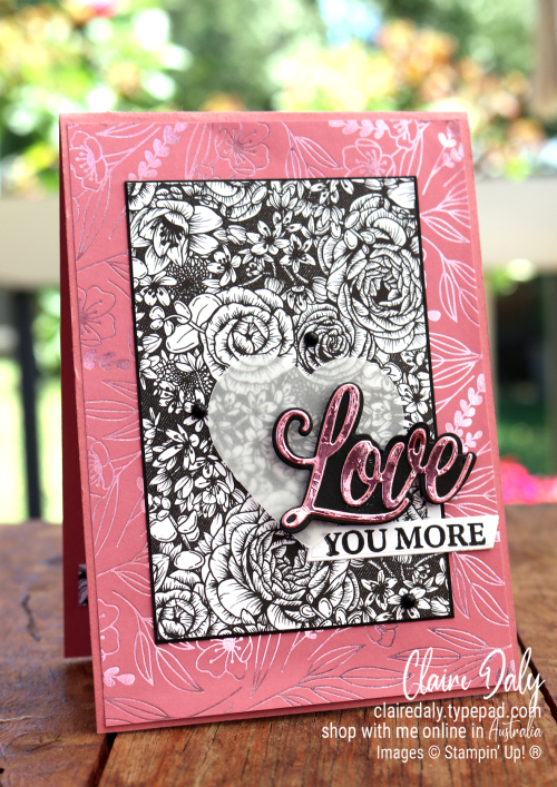 Stampin Up Forever and Always Bundle 2021 Card by Claire Daly Stampin Up Demonstrator Melbourne Australia