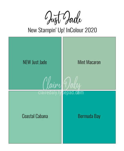 Stampin' Up! Just Jade 2020 In Colour