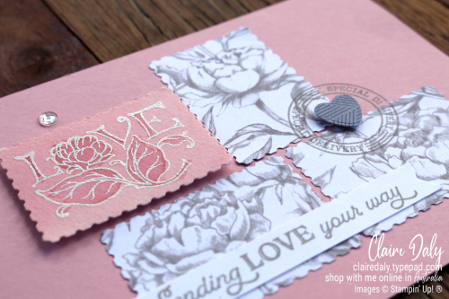 Posted for You Bundle / Stamp Set by Stampin Up. 2020 Card by Claire Daly, Stampin' Up! Demonstrator Melbourne Australia