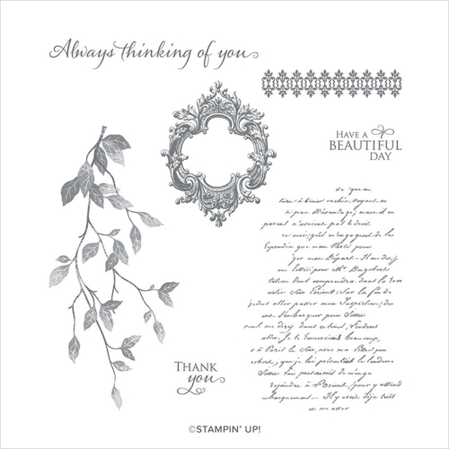 Very Versailles stamp set Stampin' Up!