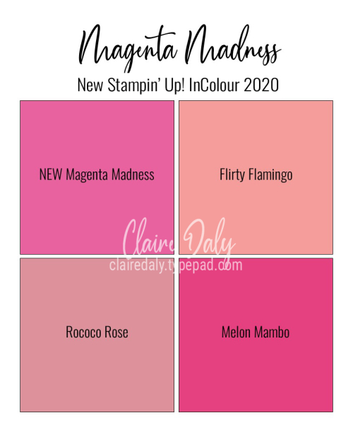 New 2020 In Colout Magenta Madness Stampin Up