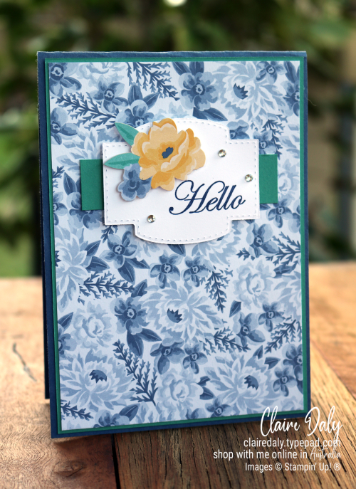 NEW Stampinup Flowers for Every Season | Misty Moonlight | Memories and More Cardpack | Claire Daly, Stampin Up Demonstrator Melbourne Australia | 2020