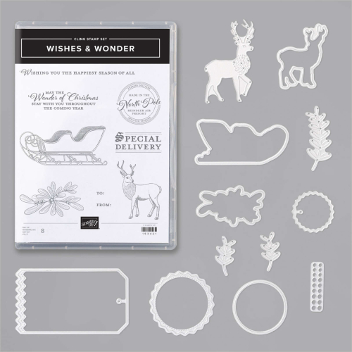Stampin Up Wishes and Wonder bundle. 2020 Christmas. Stampin Up. Available in Australia in my online store