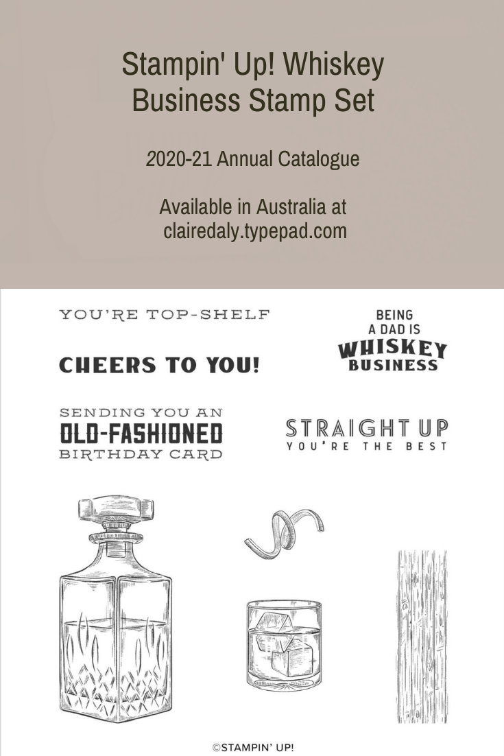 Stampin' Up! Whiskey Business (1)