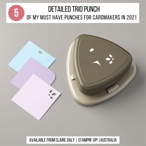 Top 5 Stampin Up Punches Every Cardmaker Needs in 2021.