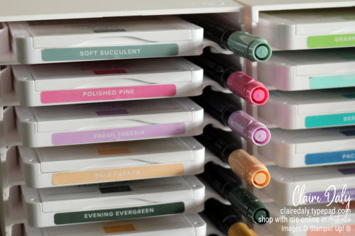 New Stampin' Up! 2021-23 InColors. Available from Claire Daly, Stampin Up Demonstrator Melbourne Australia