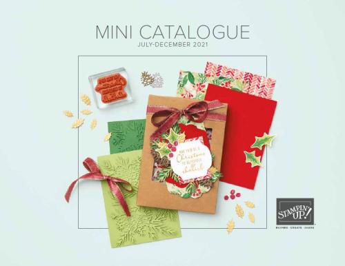 July Dec Mini Catalogue Cover