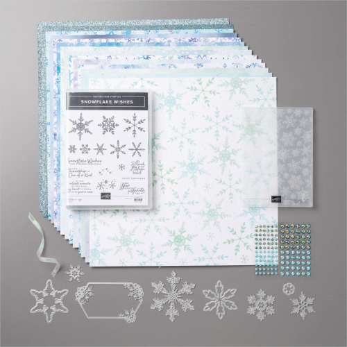 Stampin Up Snowflake Splendor Suite available in my online store in Australia