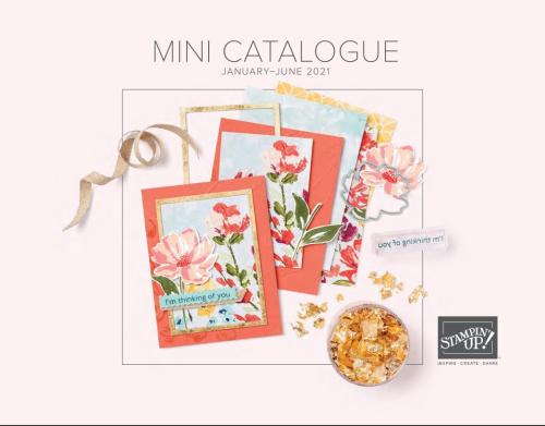 Stampin Up 2021 January to June Mini Catalogue Australia