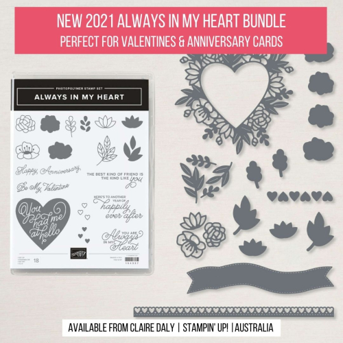 Always in My Heart Bundle Stampin Up