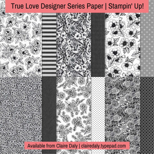 Stampin Up True Love DSP.