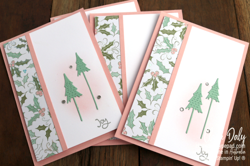Whimsy and Wonder 2021 Stampin Up Christmas cards by Claire Daly, Stampin Up Demonstrator Melbourne Australia.