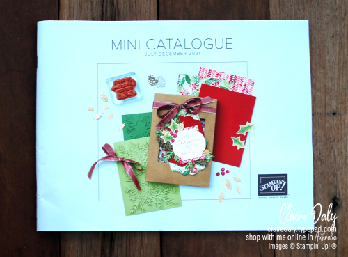 Stampin Up Australia 2021 July to December Mini Catalogue. Get your copy.