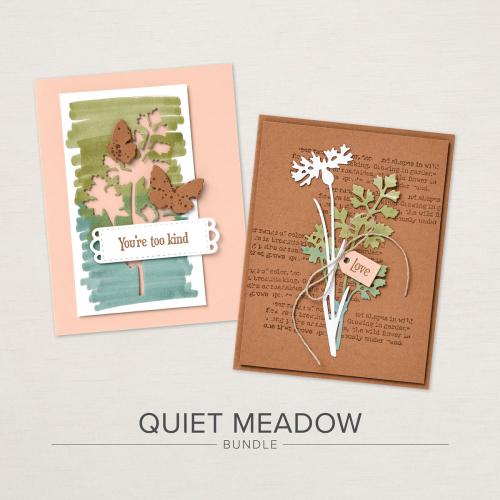 Quiet Meadow Bundle Stampin Up