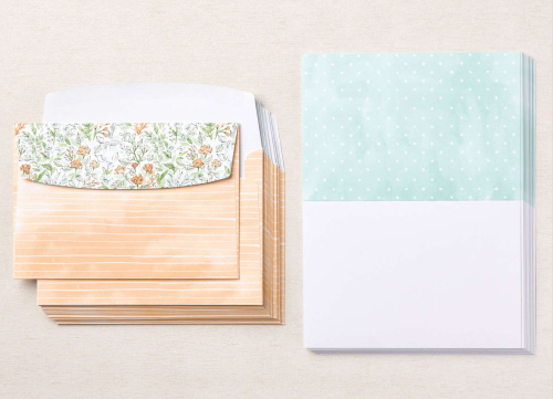 Stampin Up Hand Penned Memories and More Cards & Envelopes. Available from Claire Daly, Stampin Up Demonstrator Melbourne Australia